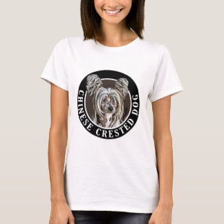 Chinese Crested Dog 002 T-Shirt