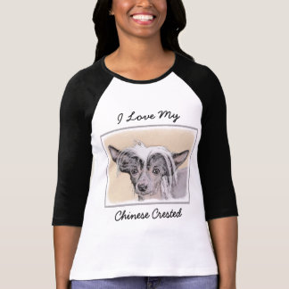 Chinese Crested (Hairless) 2 T-Shirt