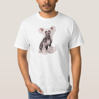 Chinese Crested Hairless Sit T-Shirt