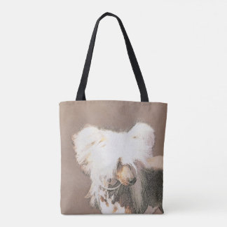 Chinese Crested (Hairless) Tote Bag