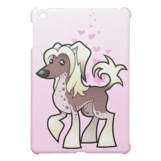 Chinese Crested Love (hairless) iPad Mini Cover