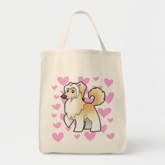 Chinese Crested Love (powderpuff) Tote Bag