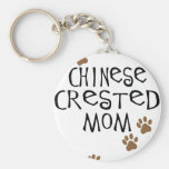 Chinese Crested Mum Keychains