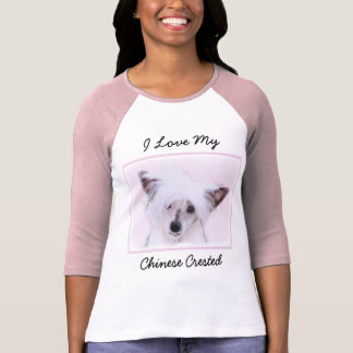 Chinese Crested (Powderpuff) T-Shirt