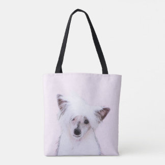 Chinese Crested (Powderpuff) Tote Bag