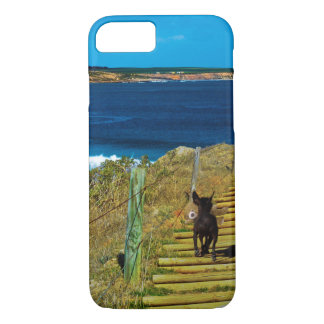 Chinese Crested Puppy Steal Teddy iPhone 7 Case