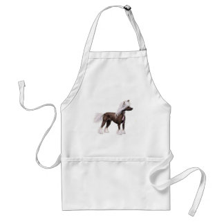 Chinese Crested Standard Apron