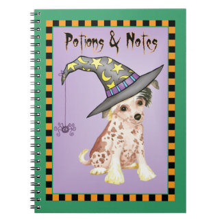 Chinese Crested Witch Notebooks