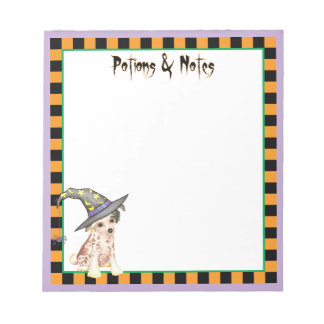Chinese Crested Witch Notepad