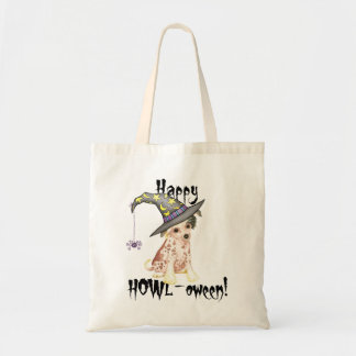 Chinese Crested Witch Tote Bag