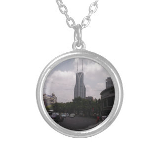 Chinese Culture Round Pendant Necklace