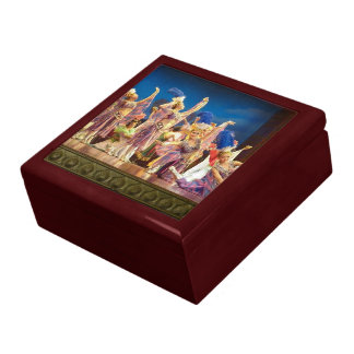 Chinese Dancers Gift Box