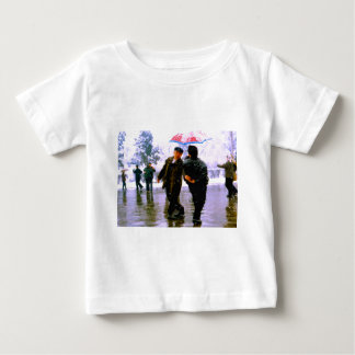 Chinese dancing on the ice baby T-Shirt