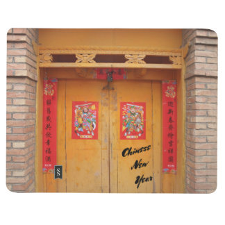 Chinese Decorated Doors For New Year Journal