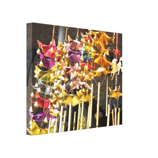 Chinese Decorations Gallery Wrapped Canvas