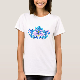 Chinese delicate flower ornament T-Shirt