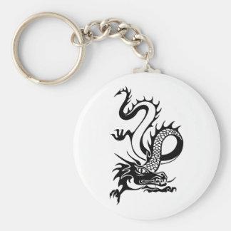Chinese Dragon (13) Basic Round Button Key Ring