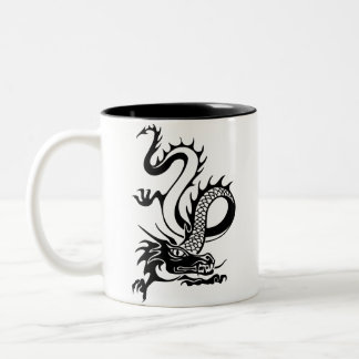Chinese Dragon (13) Two-Tone Coffee Mug
