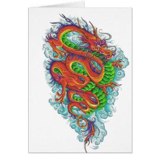Chinese Dragon 2 Greeting Card