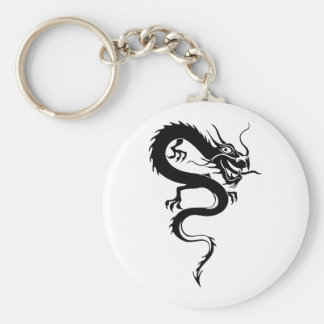 Chinese Dragon (6) Basic Round Button Key Ring
