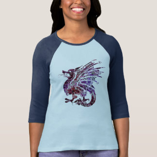 Chinese Dragon Art Women's Shirt