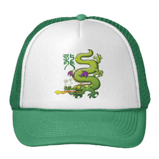 Chinese Dragon Breathing Fire Hat