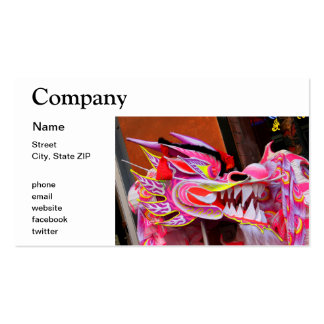 Chinese Dragon Pack Of Standard Business Cards