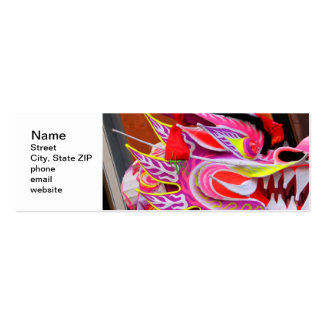 Chinese Dragon Pack Of Skinny Business Cards