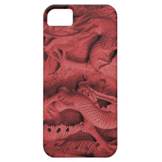 Chinese dragon carving, Singapore Barely There iPhone 5 Case