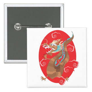 Chinese Dragon Design Pins