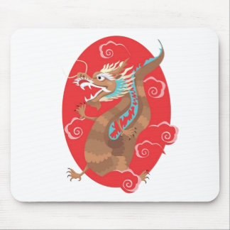 Chinese Dragon Design Mousepads