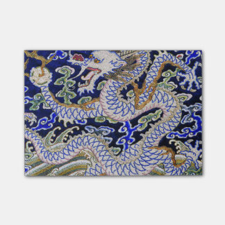 Chinese Dragon Embroidery Post-it Notes