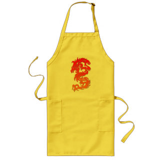 Chinese Dragon Fire Apron