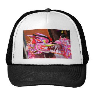 Chinese Dragon Mesh Hats