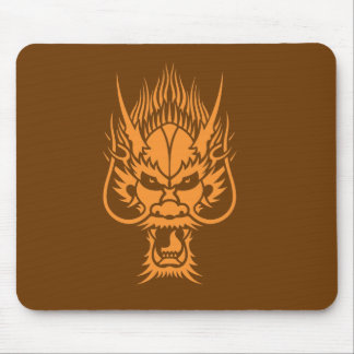 Chinese Dragon head Mouse Mat