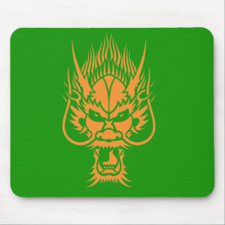 Chinese Dragon Head Mousemat