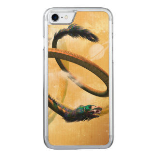 Chinese dragon in the universe carved iPhone 8/7 case