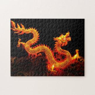 Chinese Dragon Lantern Jigsaw Puzzle