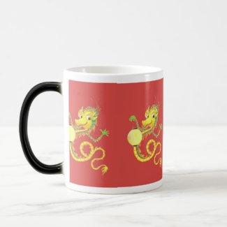 Chinese Dragon Morphing Mug mug
