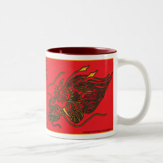 Chinese Dragon Mug - Year of the Dragon 2012