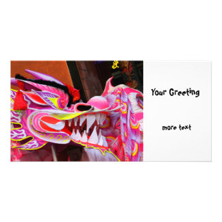 Chinese Dragon Photo Greeting Card