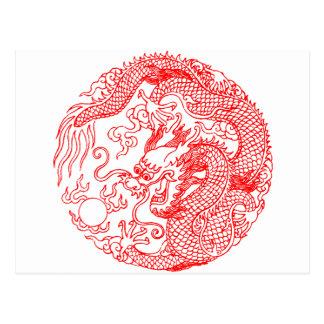 Chinese Dragon Postcard