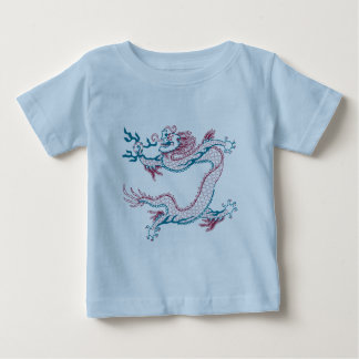 Chinese Dragon (red and green) Baby T-Shirt