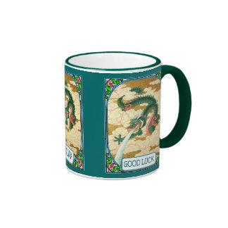 Chinese dragon ringer mug