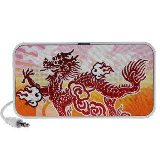 Chinese Dragon Notebook Speaker