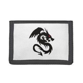 Chinese Dragon Tri-fold Wallet
