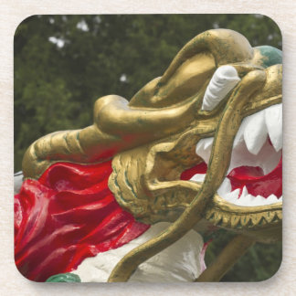 Chinese dragonboat figurehead, Stanley Park Coaster