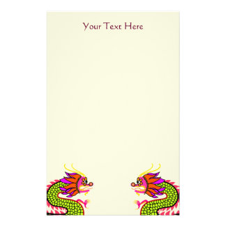 Chinese Dragons Stationery
