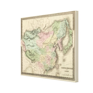 Chinese Empire and Japan Canvas Prints