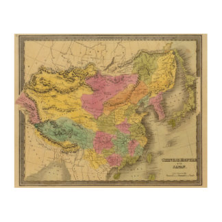 Chinese Empire And Japan Wood Canvases